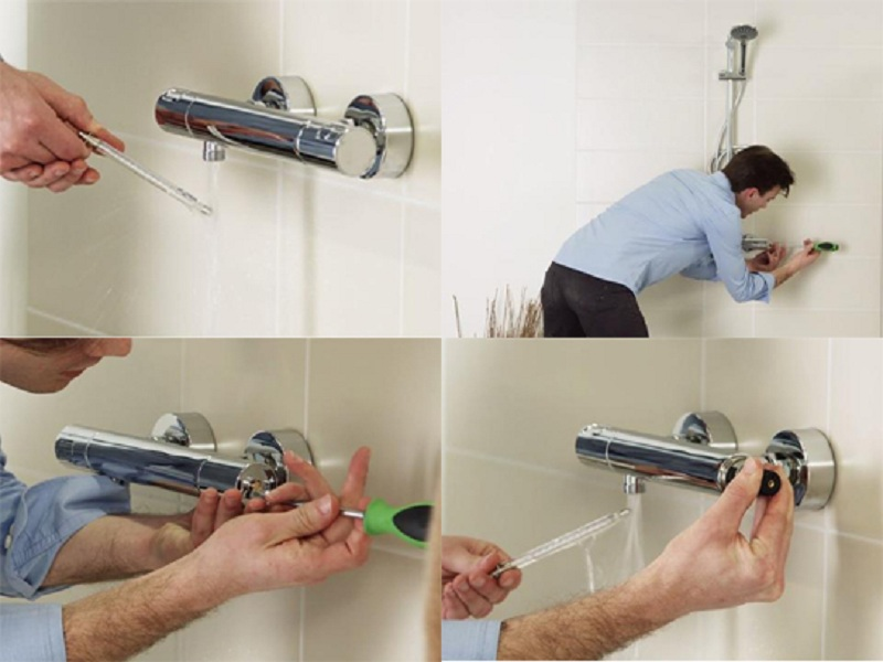 Hướng dẫn lắp đặt sen tắm