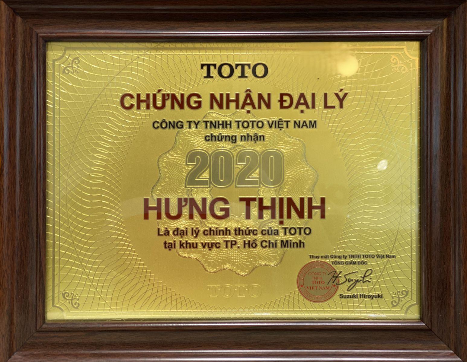 chung nhan toto