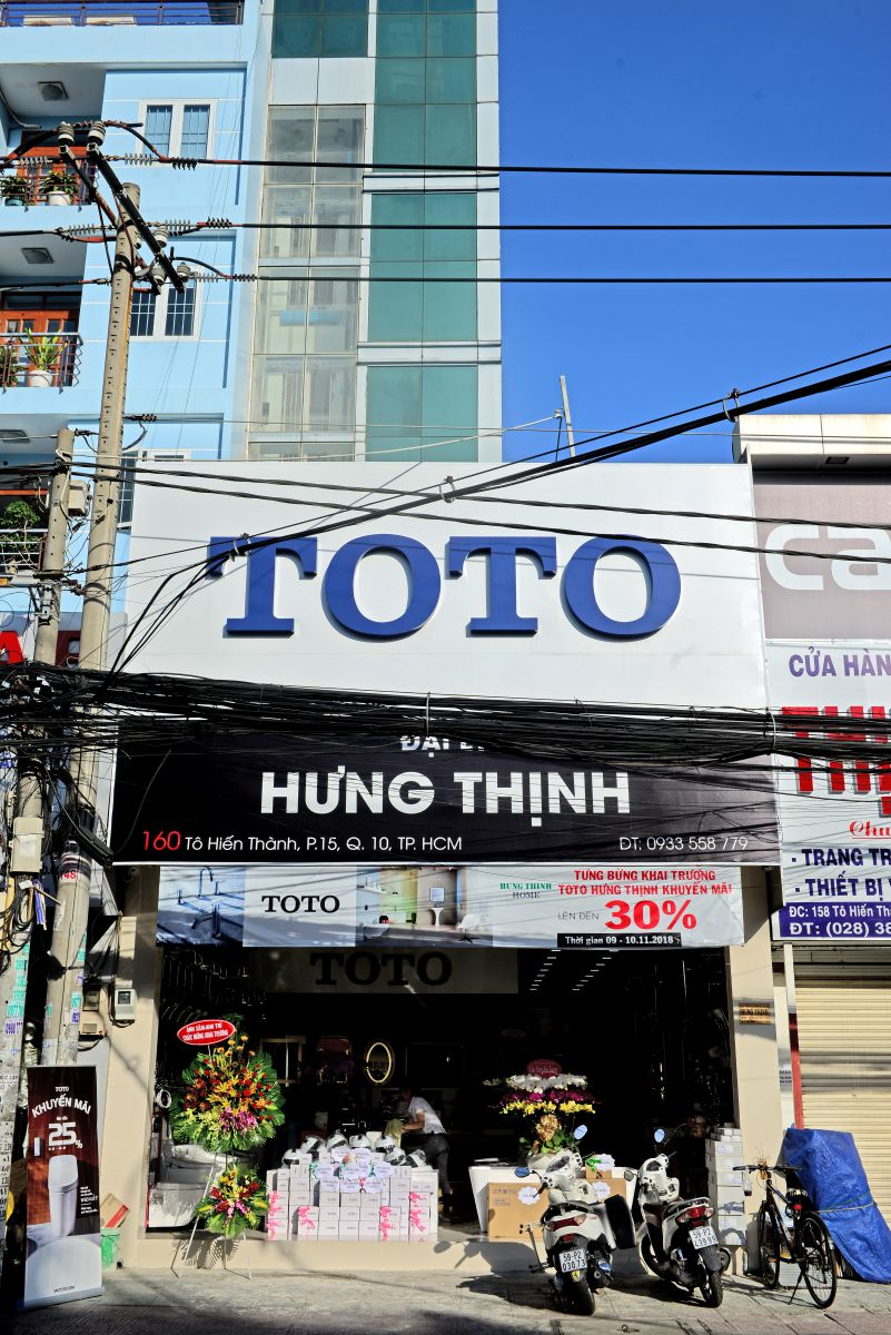 Khai trương showroom TOTO Hưng Thịnh