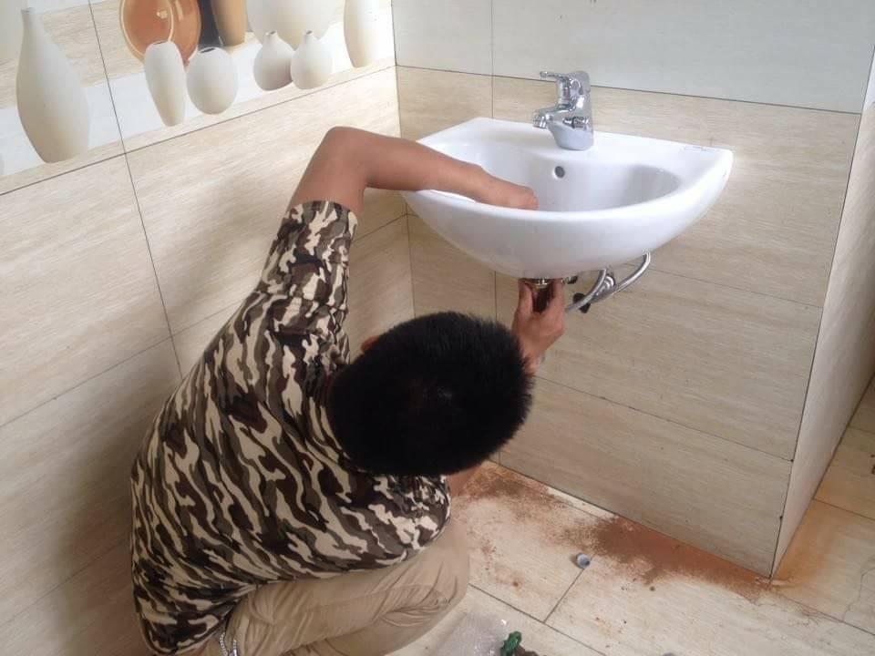 Hướng dẫn lắp đặt lavabo TOTO