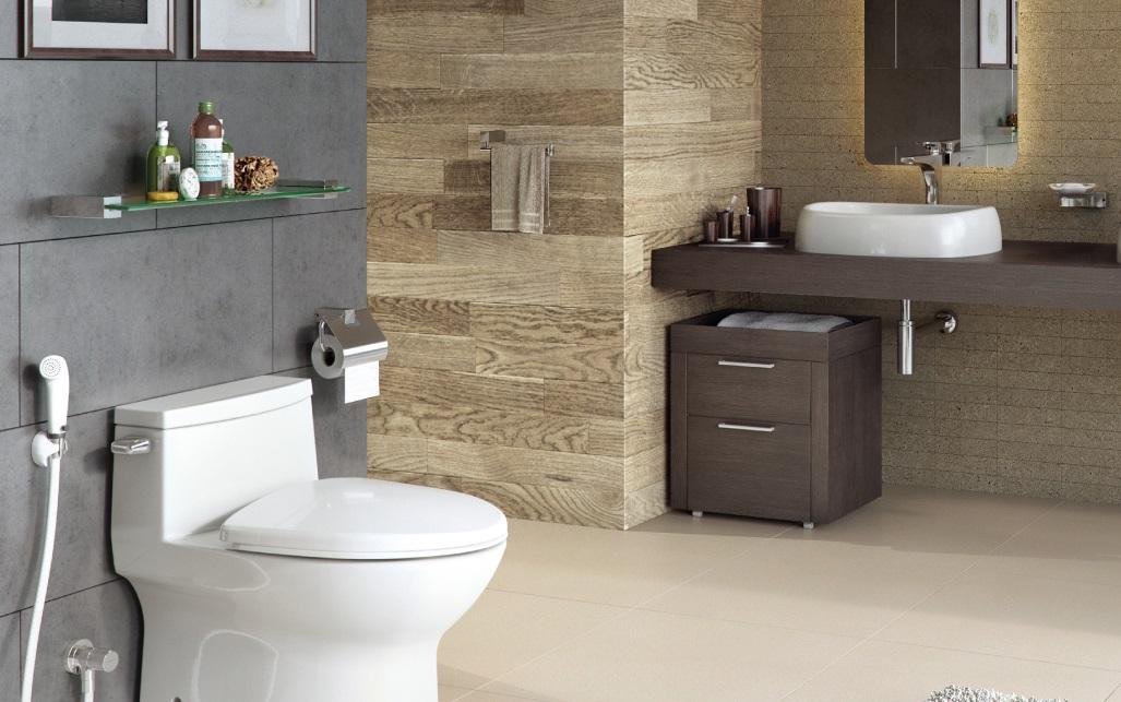 Phòng tắm thiết kế kiểu hiện đại
